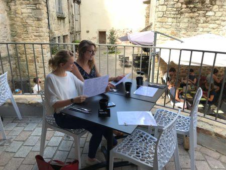 Pause déjeuner en terrasse du Bistronôme