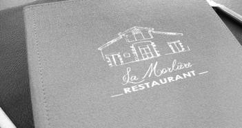 Carte du restaurant La Morlière à Sigournais, proche de Chantonnay, en Vendée