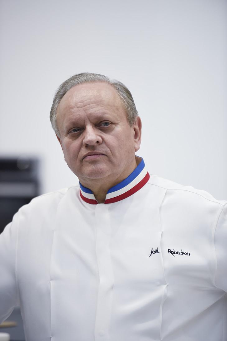 Le chef français Joël Robuchon