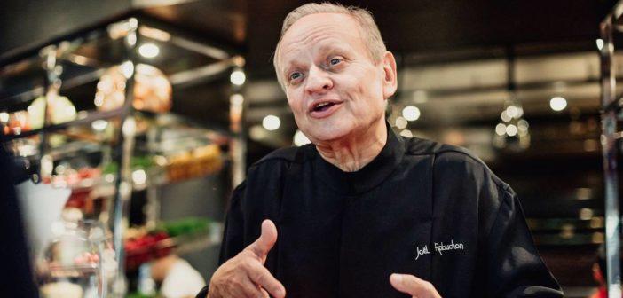 Chef étoilé Joël Robuchon
