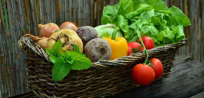 Spécialités Angevines : Panier de légumes