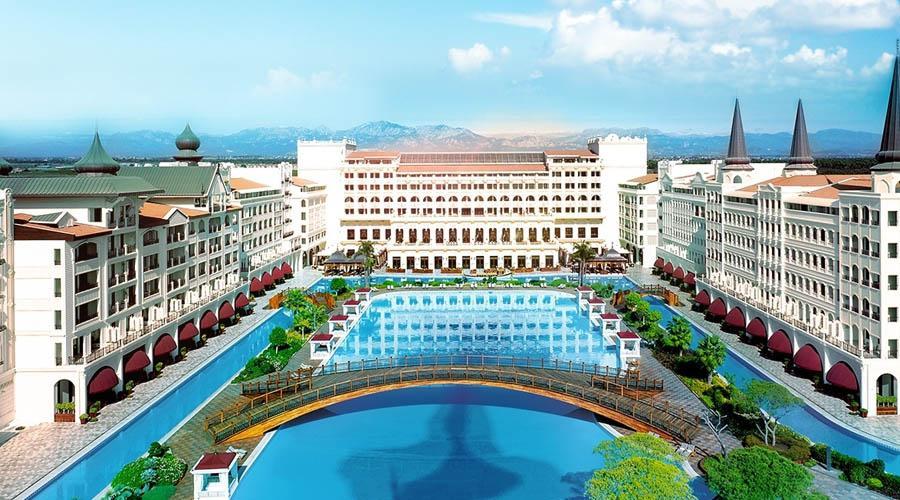 Hôtel de luxe Le Mardan Palace Hotel de Turquie