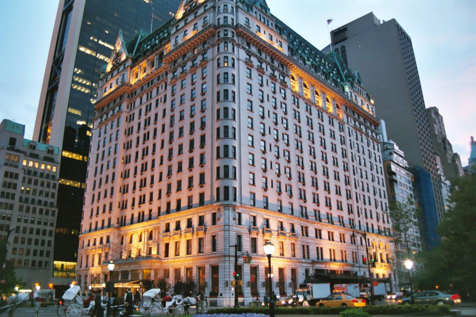 Hôtel de luxe le Plaza Hôtel de New-York