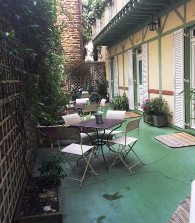 Terrasse du Garden Hôtel de Rennes