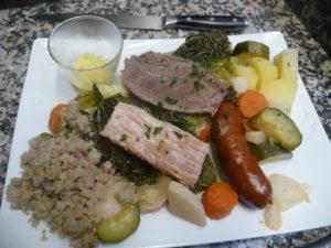 Un cuisine traditionnelle et savoureuse à la Plaidoirie à Quimper