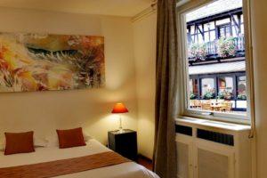 Un séjour en tout quiétude à l'Hôtel Le Gouverneur à Obernai