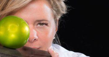 Christelle Brua et son fameux dessert La Pomme Soufflée croustillante