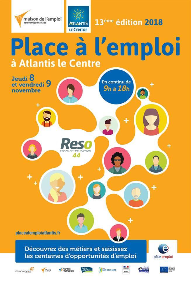 Place à l'emploi 2018 - Saint Herblain (Atlantis)