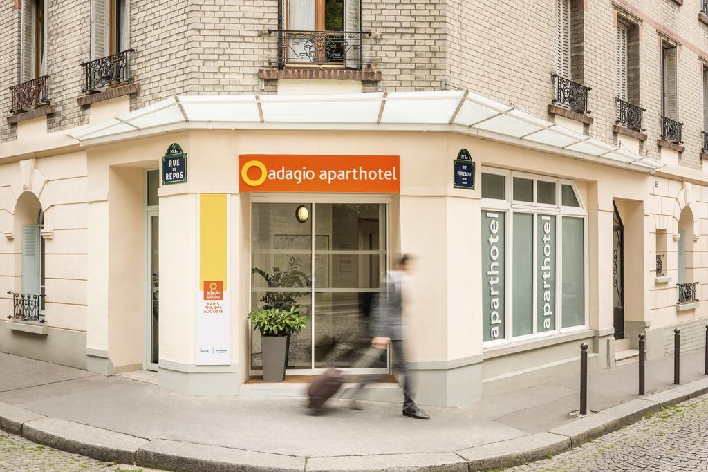 Photo de la façade des Aparthôtel Adagio access Paris Philippe Auguste