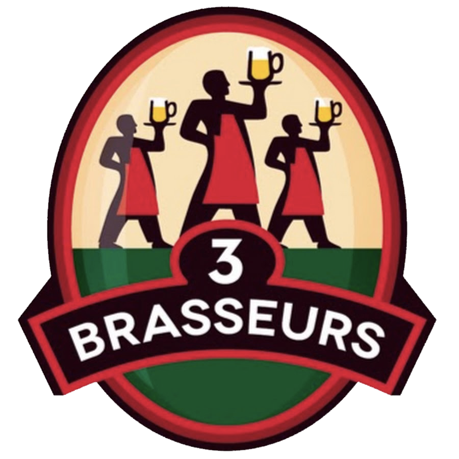 logo Les 3 Brasseurs