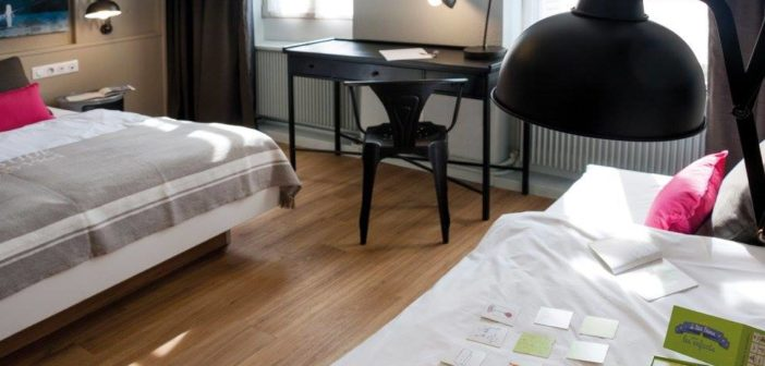 Découvrez les chambres de l'Hôtel Roses à Strasbourg