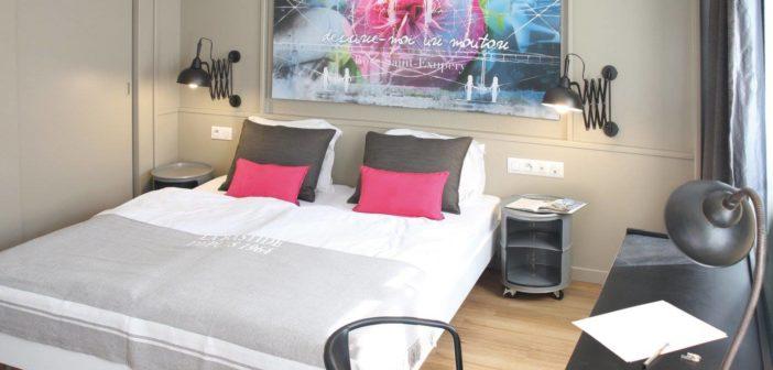 Découvrez les magnifiques chambres de cet hôtel à Strasbourg