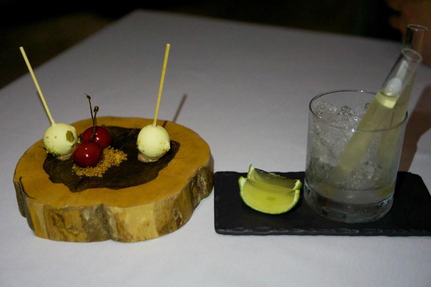 Plat moléculaire du restaurant Restaurante Benazuza