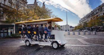 Vélo-restaurant Drôle de bike Valenciennes