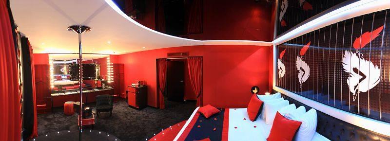 Hôtel Seven à Paris chambre cabaret