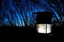 La Cabane Latite de nuit en Auvergne