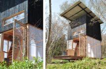 Cabane Latite et sa terrasse