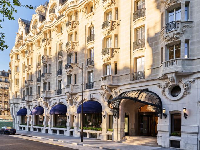 Plus beaux hôtels : Le Lutetia Paris