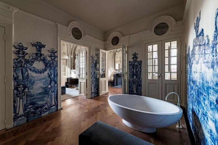 Plus beaux hôtels : L'hôtel Verride Palácio Santa Catarina Lisbonne