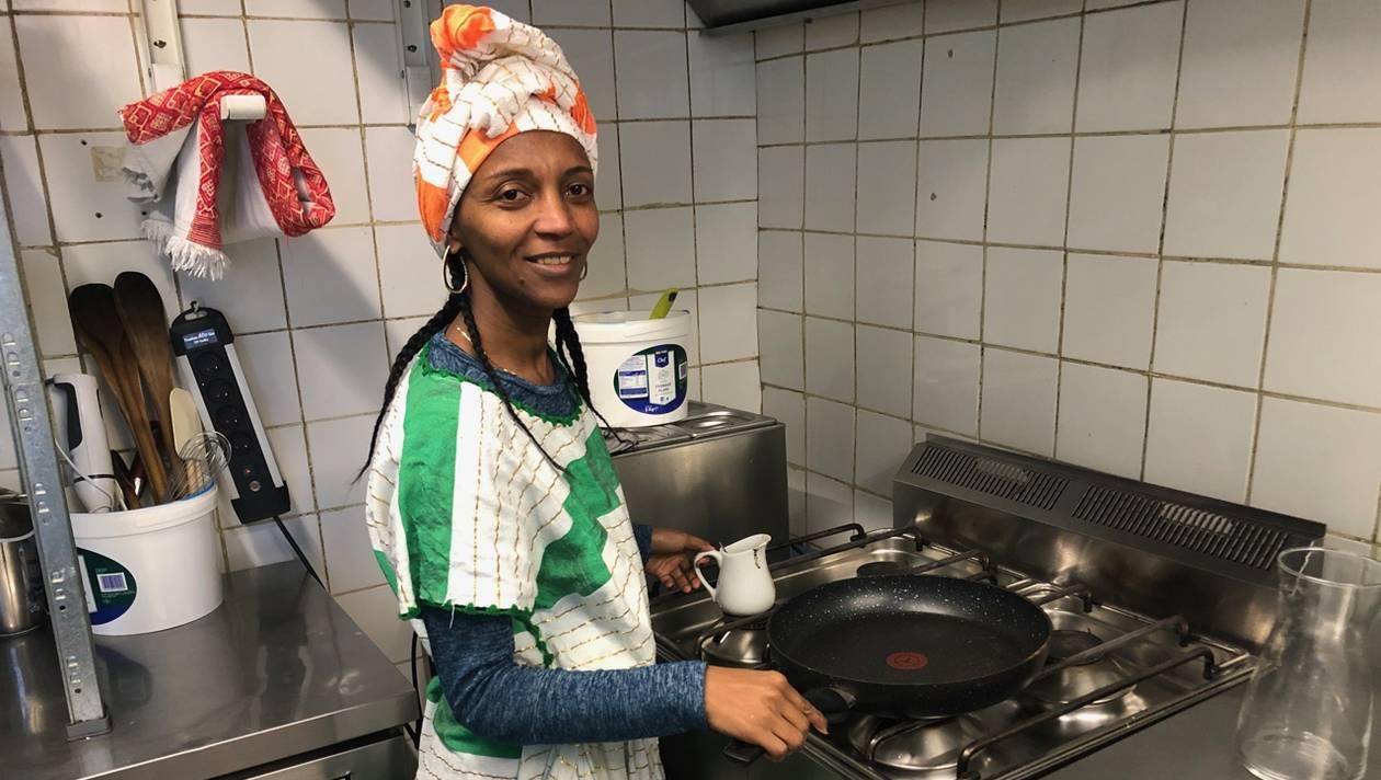 Lem Lem, la responsable et cuisinière du Restaurant Éthiopien