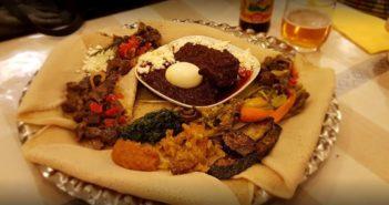Plats typiques éthiopiens