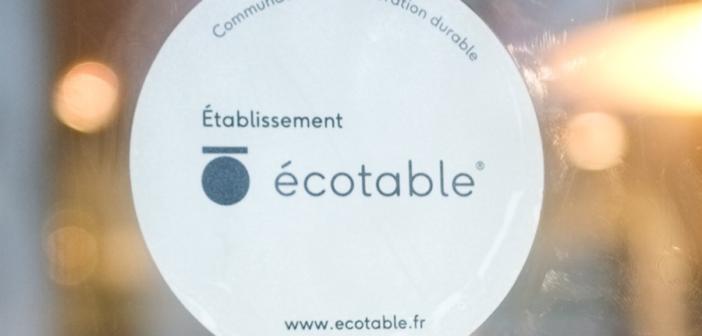 Logo du label Ecotable