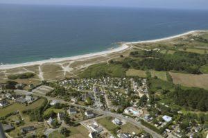 vacances en bretagne au camping des dunes en bord de mer