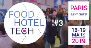 Affiche salon Food Hotel Tech 2019