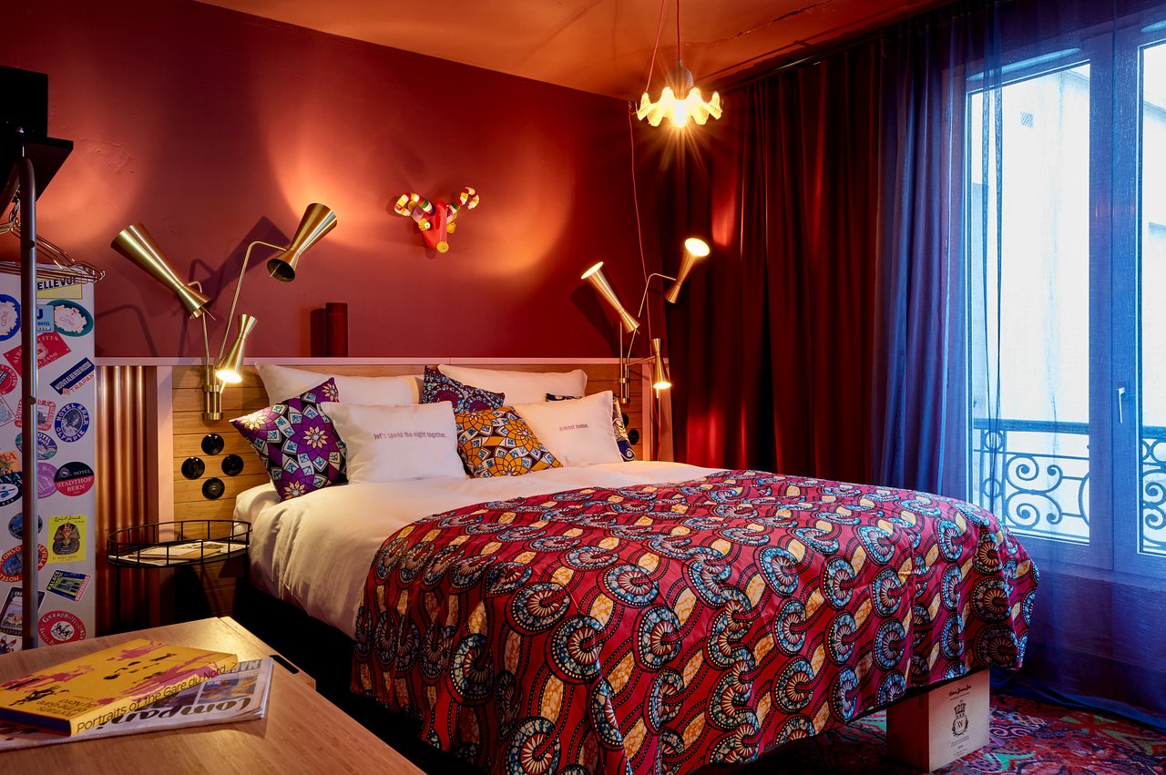 Hôtels Paris : Chambre du 25hours Hotel Terminus Nord