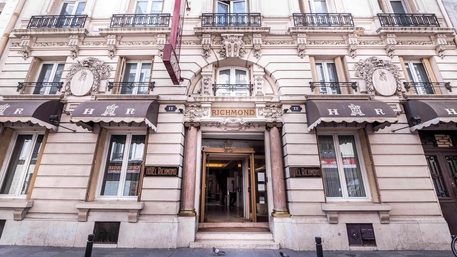 Hôtels Paris : Hôtel Richmond Opéra