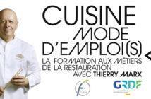Affiche de Cuisine Mode d'Emplois par Thierry Marx
