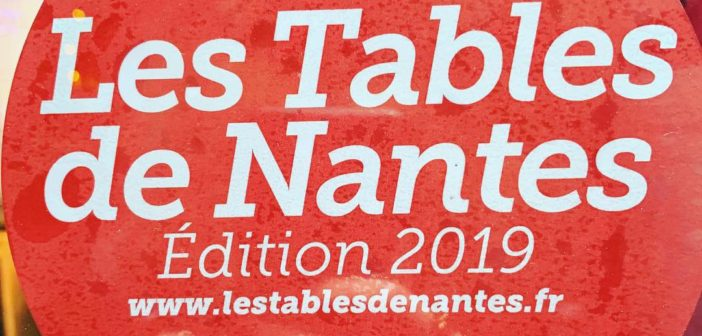 "Guide ""Les Tables de Nantes 2019"""