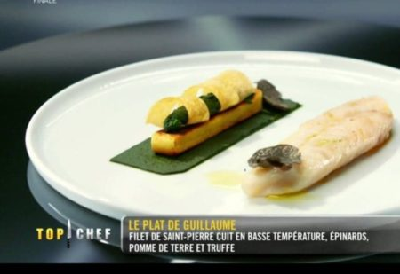 Le filet de saint-pierre top chef