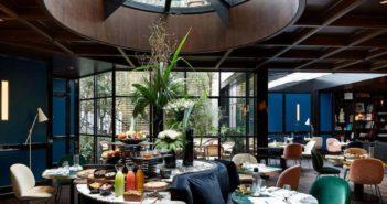 Salle du restaurant du Roch Hôtel & Spa