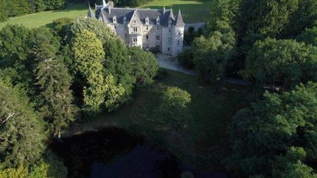 Moment magique chambre d'hôtes au château de kervoazec