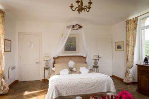 Chambre au Château de Kervoazec à Saint Goazec
