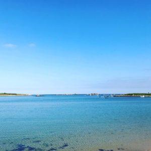 Vue sur mer à la Crêperie la Route des Phares