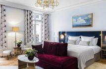 Chambre de l'hôtel Grand Powers de Paris