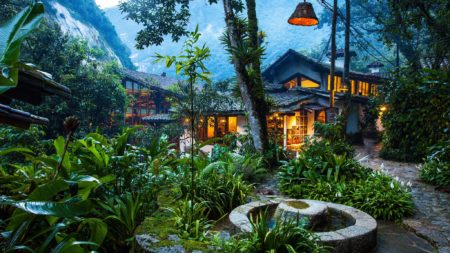 hôtels de luxe au Pérou Inkaterra Machu Picchu Pueblo Hotel