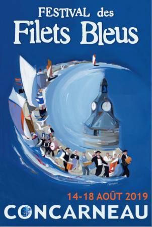 Filets Bleus festival à concarneau