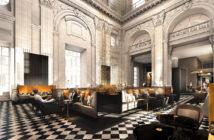 Hall de l'InterContinental Lyon Hôtel Dieu