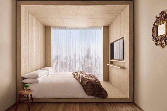 Nouveaux hôtels urbains : Sister City New York