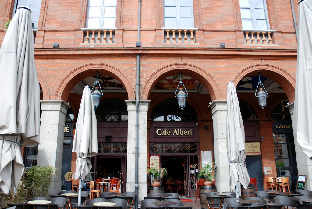 Terrasses de Toulouse : Grand Café Albert
