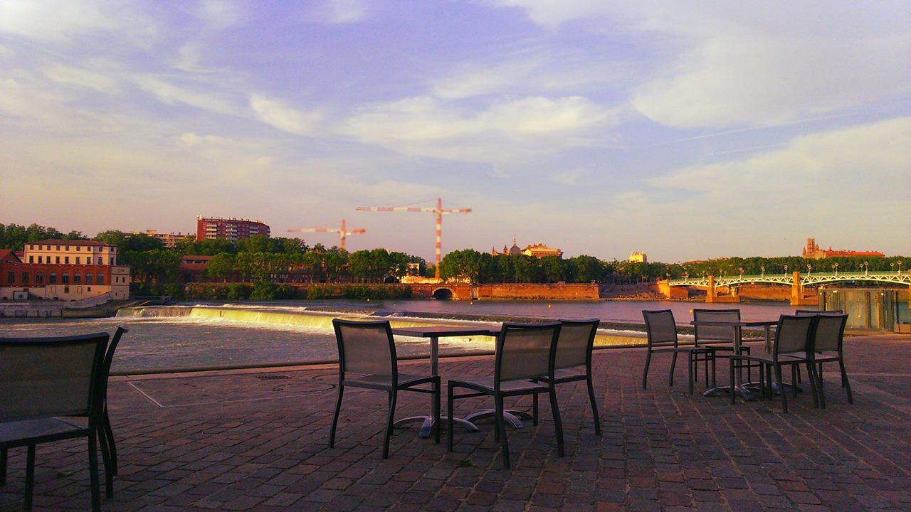 Terrasses de Toulouse : La Guinguette de Saint-Cyprien