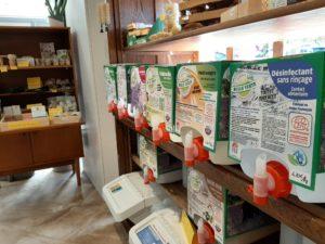 produits entretien zéro déchet à Briec