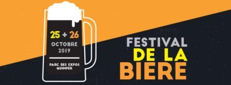 Affiche du premier festival de la bière organisé à Quimper