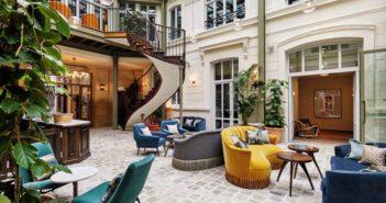 Hôtels : Le Lobby de l'hôtel Hoxton de Paris