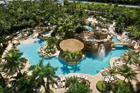 Hard Rock Hotel & Casino : Lagon artificiel