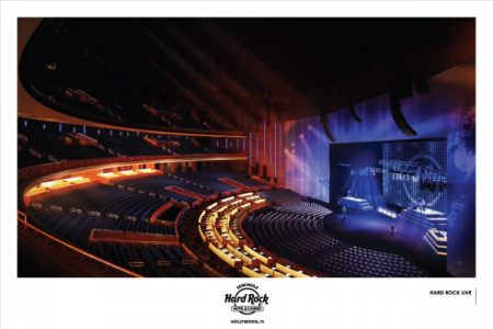 Hard Rock Hotel & Casino : Salle de spectacle