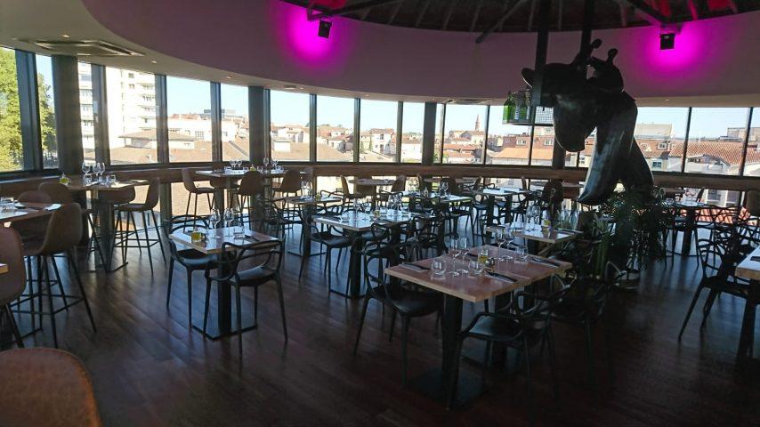 Nouveau restaurant Toulouse : La Vue